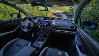 Subaru XV e-Boxer, gli interni