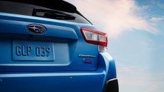 Subaru XV ibrida: arriverà in Europa nel 2019. dettaglio posteriore