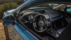 Subaru XV ibrida: arriverà in Europa nel 2019. interni