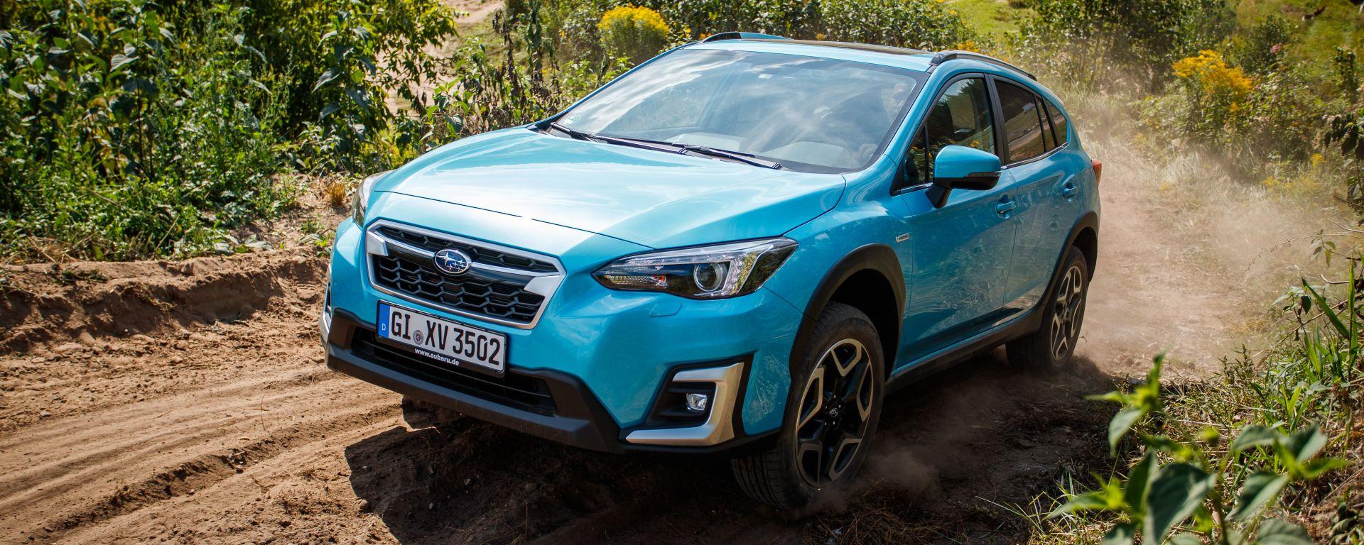 Subaru XV e-Boxer, svolta ibrida. Il test on-road e off-road