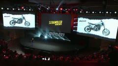 Sul monitor il disegno del concept Ducati Scrambler Motard