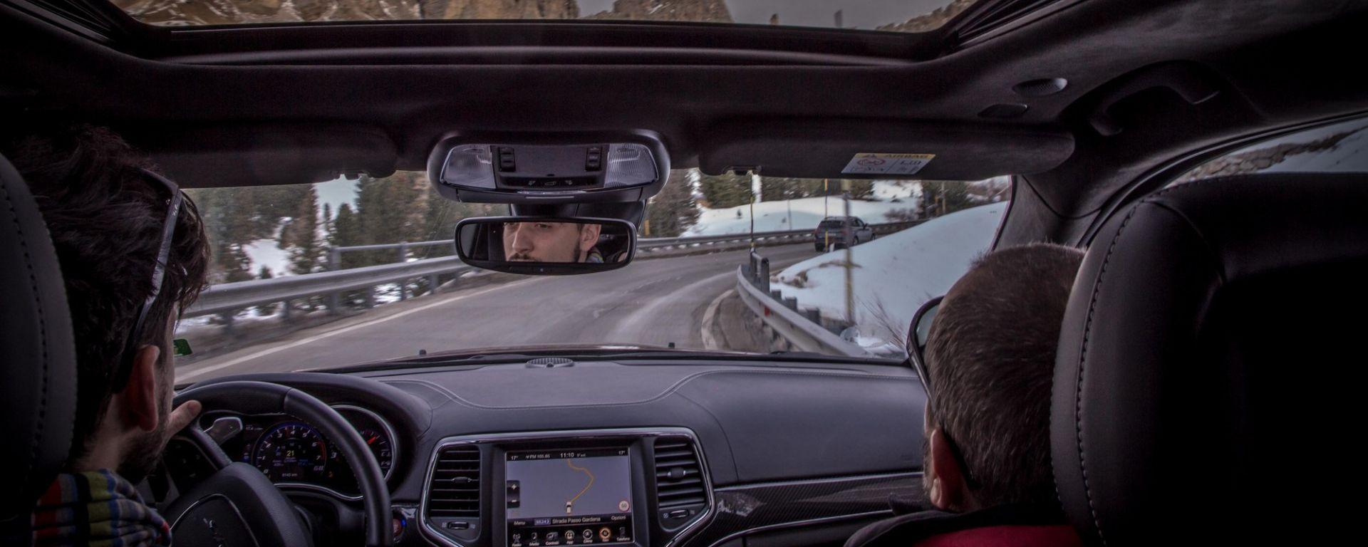 Sulle strade delle Dolomiti con la Jeep Grand Cherokee