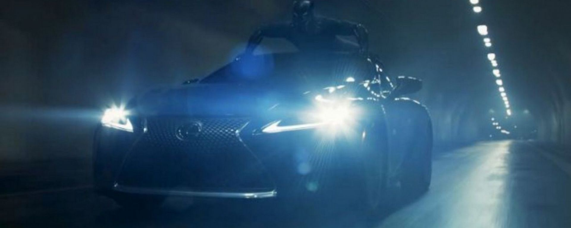Super Bowl 2018, lo spot della Lexus LS 500