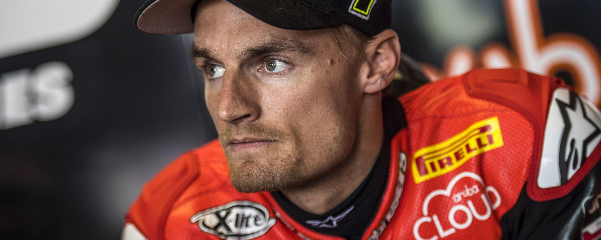Superbike 2016: Chaz Davies soddisfatto dei test di Misano