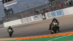 Superbike Aragon 2020: Jonathan Rea e Alex Lowes (Kawasaki)