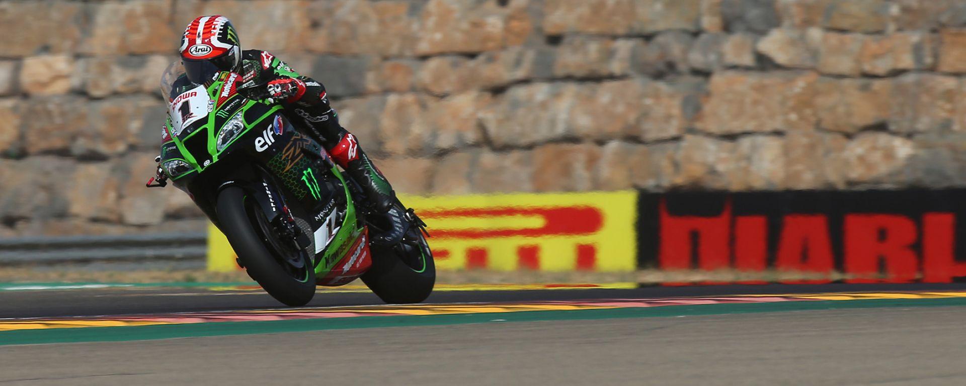 Superbike Aragon 2020, Jonathan Rea (Kawasaki)
