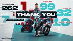 Superbike, Chaz Davies appende il casco al chiodo a fine stagione