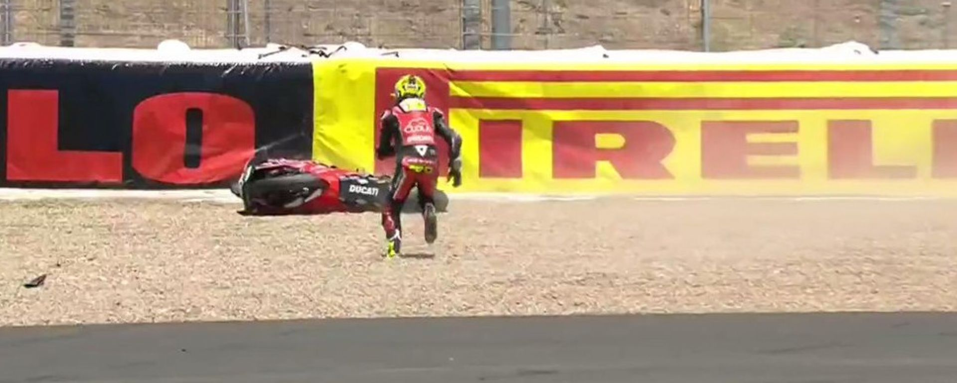Superbike Jerez: Bautista fa 13 ma cade in gara-2. Rea accorcia