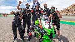 Superbike, Jonathan Rea festeggia la 100° vittoria in carriera ad Aragon 2021