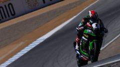 Superbike Laguna Seca 2016: dominio Kawasaki, Tom Sykes in pole, Jonathan Rea vince gara 1 - Immagine: 1