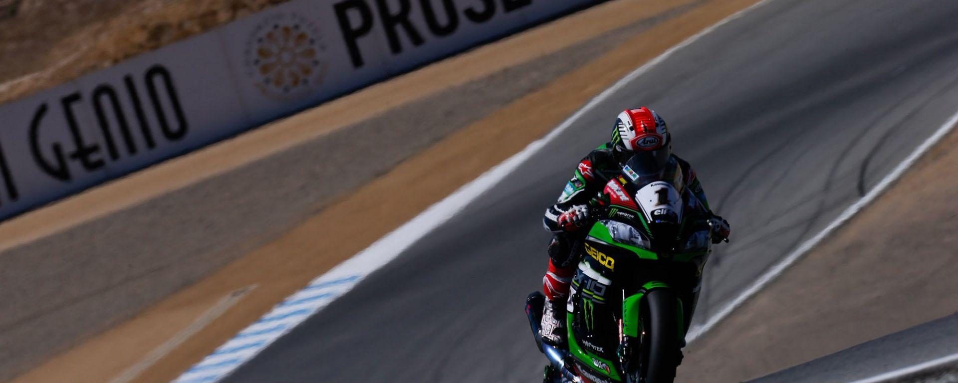 Superbike Laguna Seca 2016: dominio Kawasaki, Tom Sykes in pole, Jonathan Rea vince gara 1