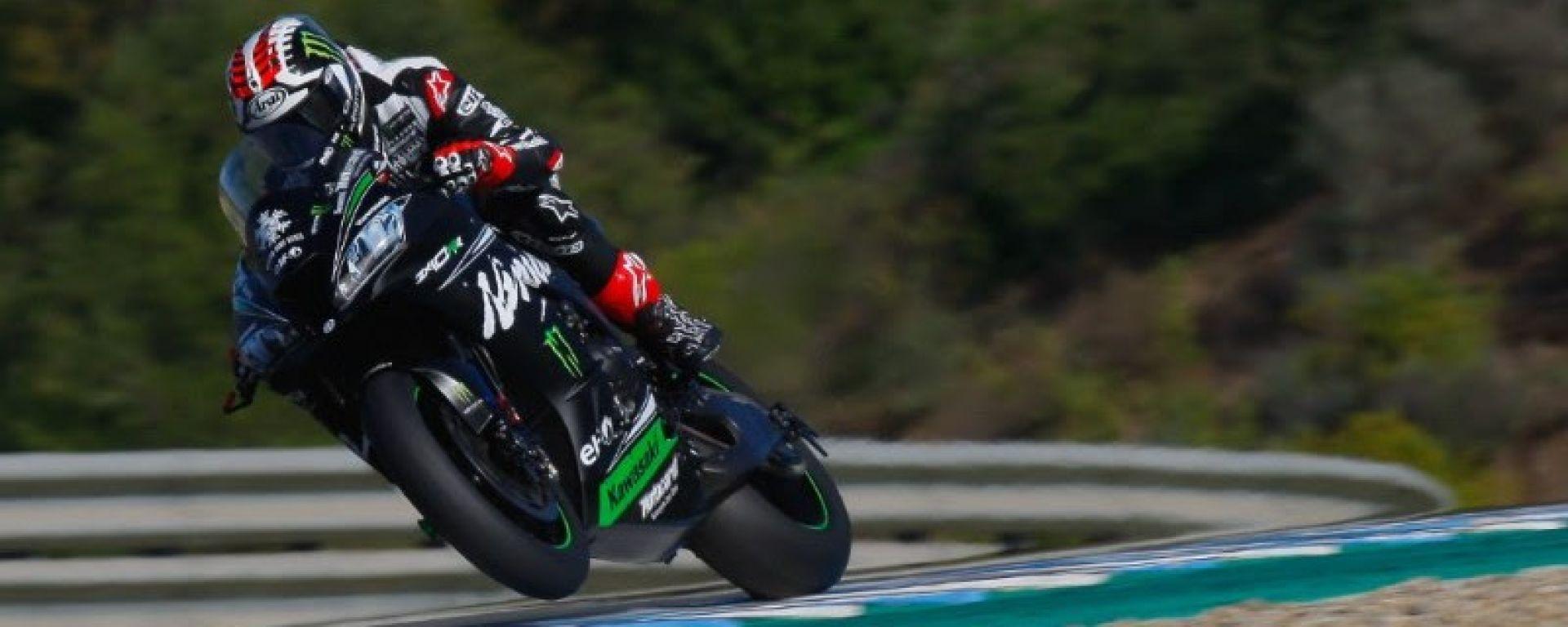 Rea è il più veloce nella prima giornata di test a Jerez