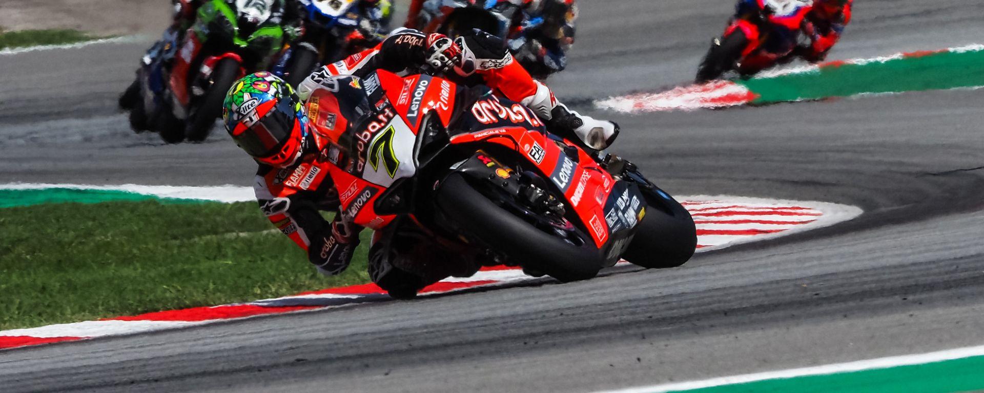 Superbike round Barcellona, gara-1: Chaz Davies (Ducati)
