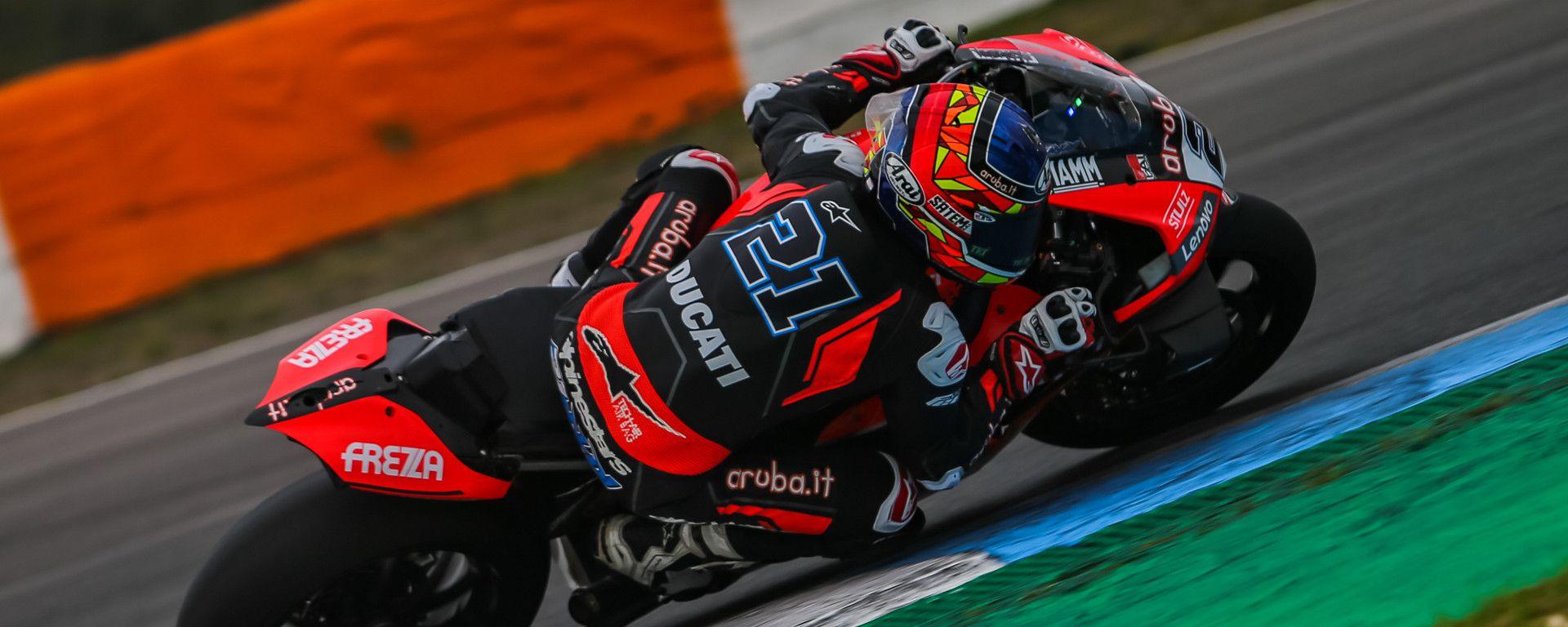 Superbike, Test Estoril 2020, Michael Ruben Rinaldi (Ducati)
