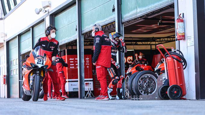 Superbike Test Misano 2021, Michael Ruben Rinaldi (Ducati)