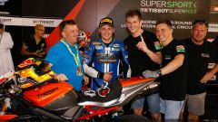 SUPERSPORT QATAR 2016: Luke Stapleford regala la prima Superpole alla Triumph