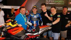 SUPERSPORT QATAR 2016: Luke Stapleford regala la prima Superpole alla Triumph