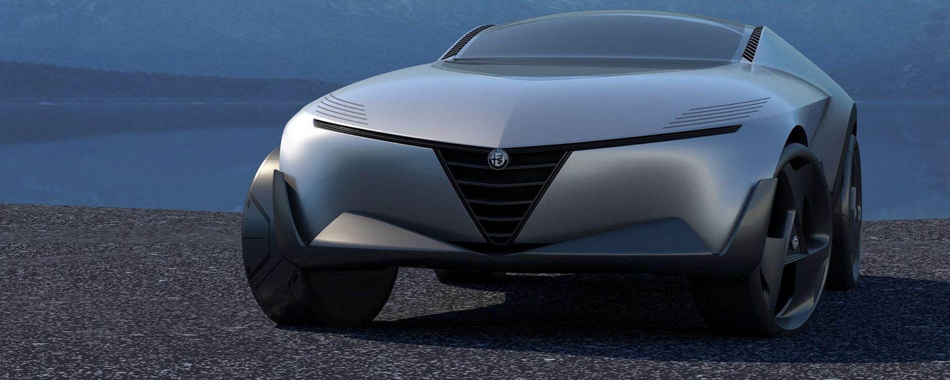 Nuovo SUV Alfa Romeo Castello: omaggio alla Montreal?
