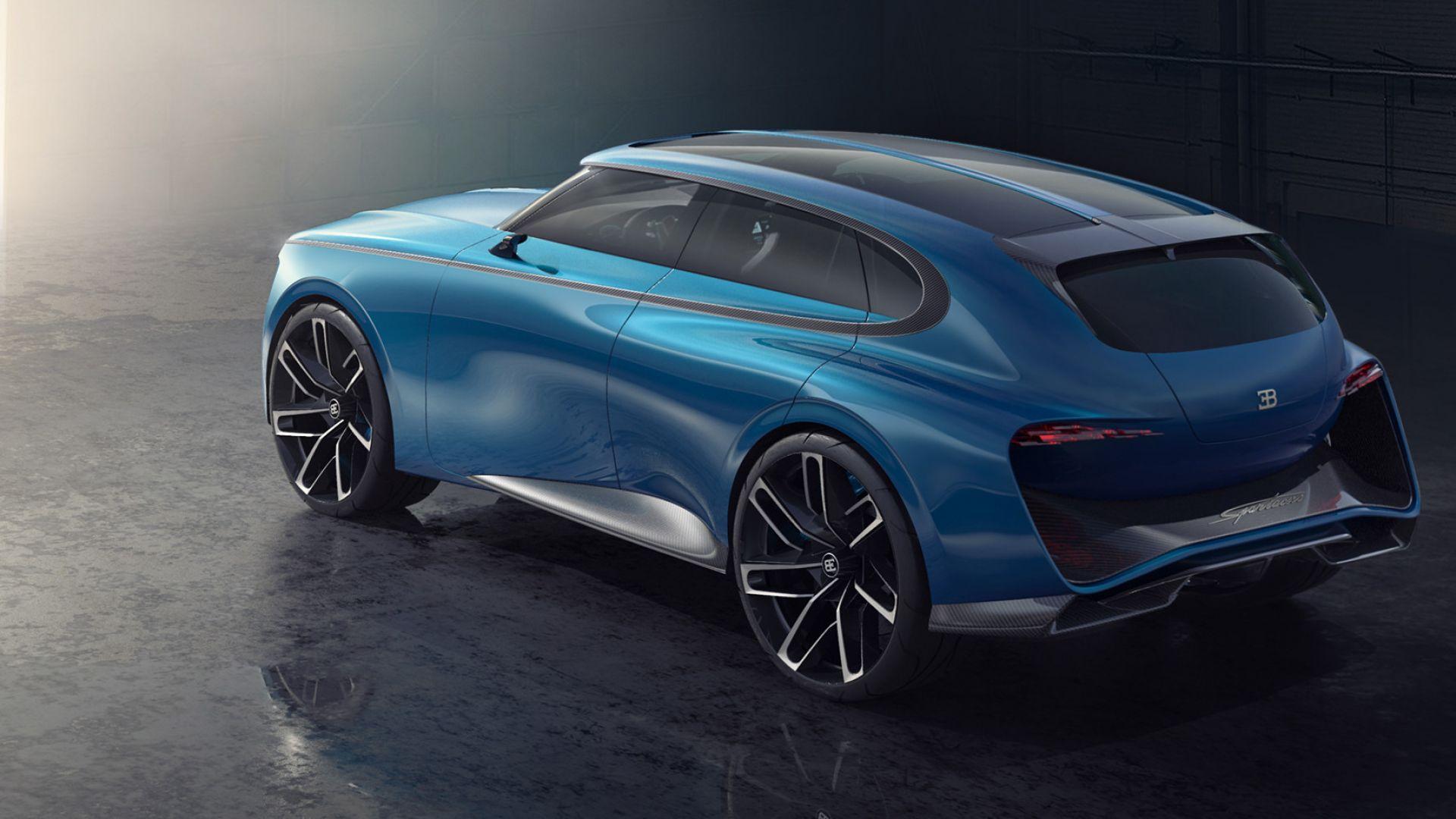 Suv Bugatti Si Fara E Sara Elettrico Ultime News Motorbox