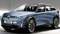 Suv elettrico Renault, il render di Auto Express