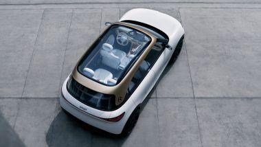 SUV elettrico Smart, visuale di 3/4 posteriore