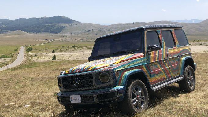 SUVAttack Mercedes-Benz: Alebri-G, la Classe G disegnata in Messico da due artisti autoctoni