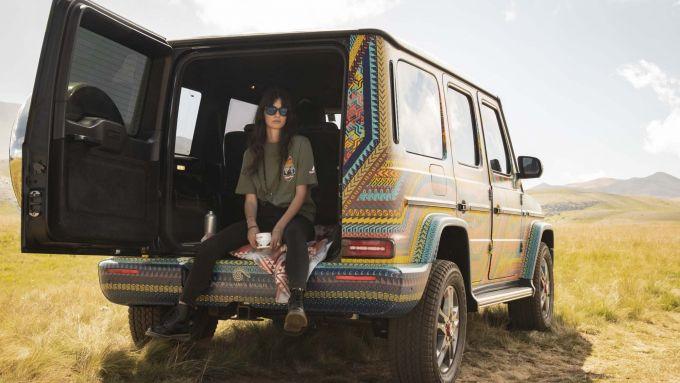 SUVAttack Mercedes-Benz: capi d'abbigliamento tecnici Holubar per il tour sul Gran Sasso