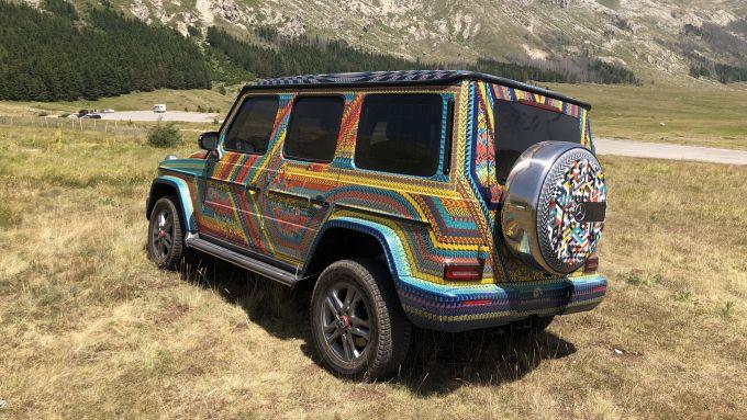 SUVAttack Mercedes-Benz: la Classe G speciale, capolavoro di arte Zapoteca