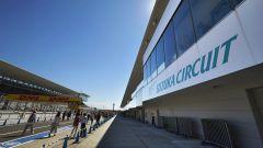 Suzuka International Racing Course - pitlane dei box