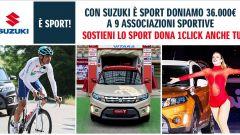 Suzuki: 36mila euro da donare a 9 associazioni sportive - Immagine: 1