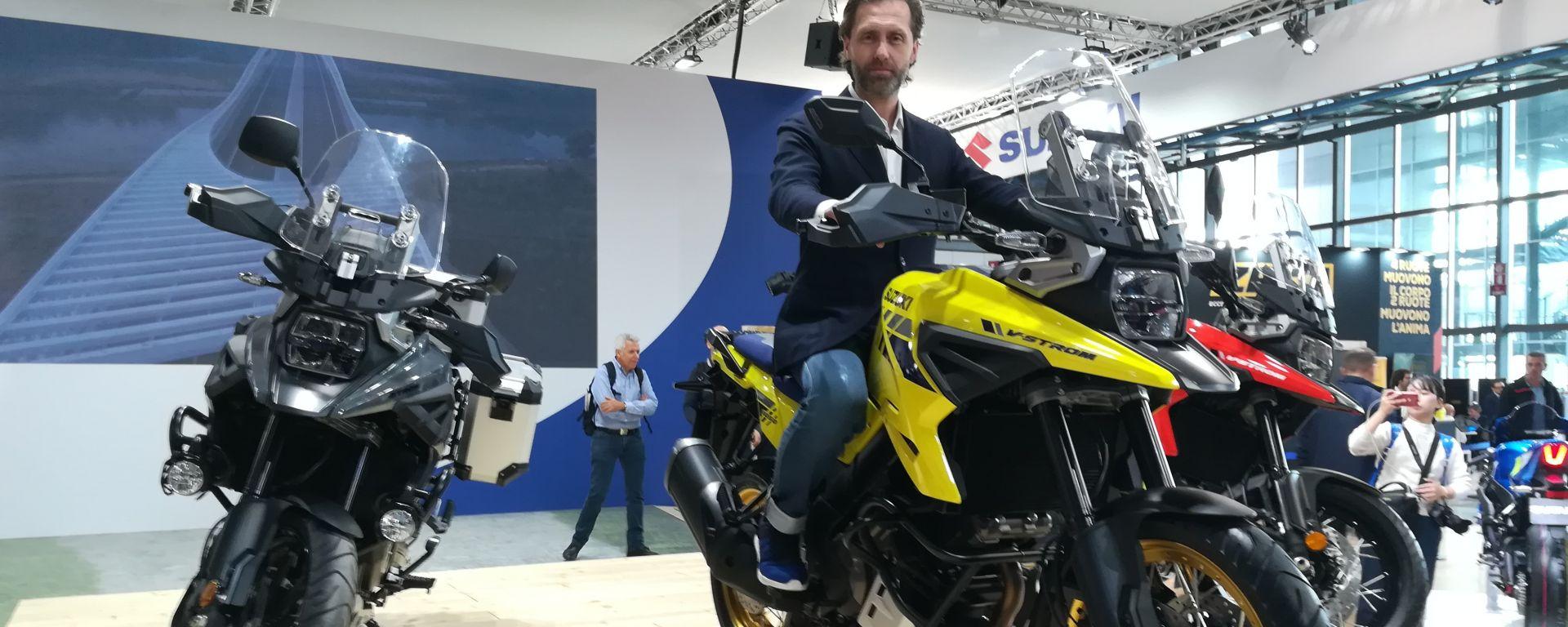 Suzuki a Eicma 2019: Enrico Bessolo Direttore Commerciale Suzuki Italia