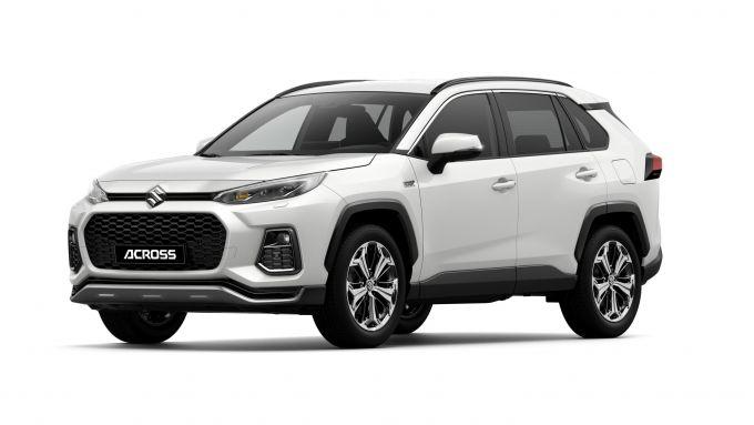 Suzuki Across: visuale di 3/4 anteriore
