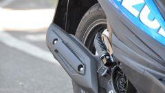 Suzuki Address MotoGP, lo scarico