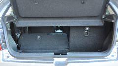 Suzuki Baleno 1.2 Dualjet SHVS, il sedile posteriore sdoppiato