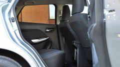 Suzuki Baleno 1.2 Dualjet SHVS, l'abitabilità posteriore è ottima