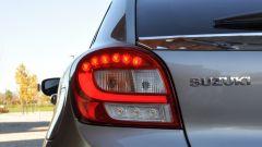 Suzuki Baleno 1.2 Dualjet SHVS, le luci di coda