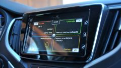 Suzuki Baleno 1.2 Dualjet SHVS, lo schermo touch da 7''