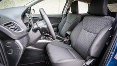 Suzuki Baleno S: buono il comfort dei sedili
