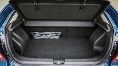 Suzuki Baleno S: il bagagliaio ha 355 litri di capacità