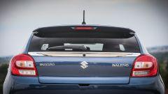 Suzuki Baleno S: la vista posteriore