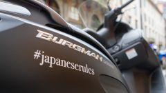 Suzuki Burgman 200 ABS: i migliori Sushi - Immagine: 16