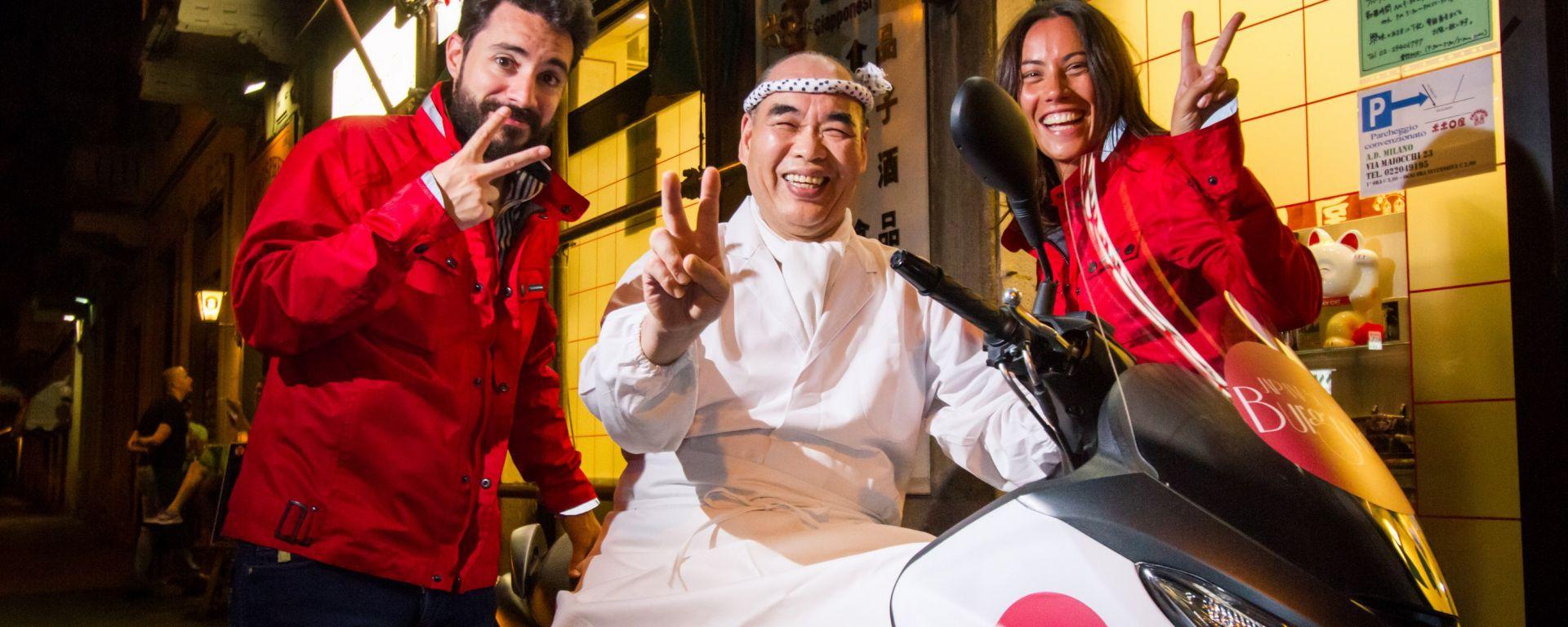 Suzuki Burgman 200 ABS: i migliori Sushi