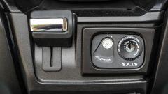 Suzuki Burgman 2017: il blocchetto d'accensione