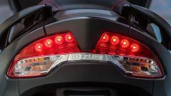 Suzuki Burgman 2017: il fanale posteriore