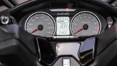 Suzuki Burgman 2017: il quadro strumenti