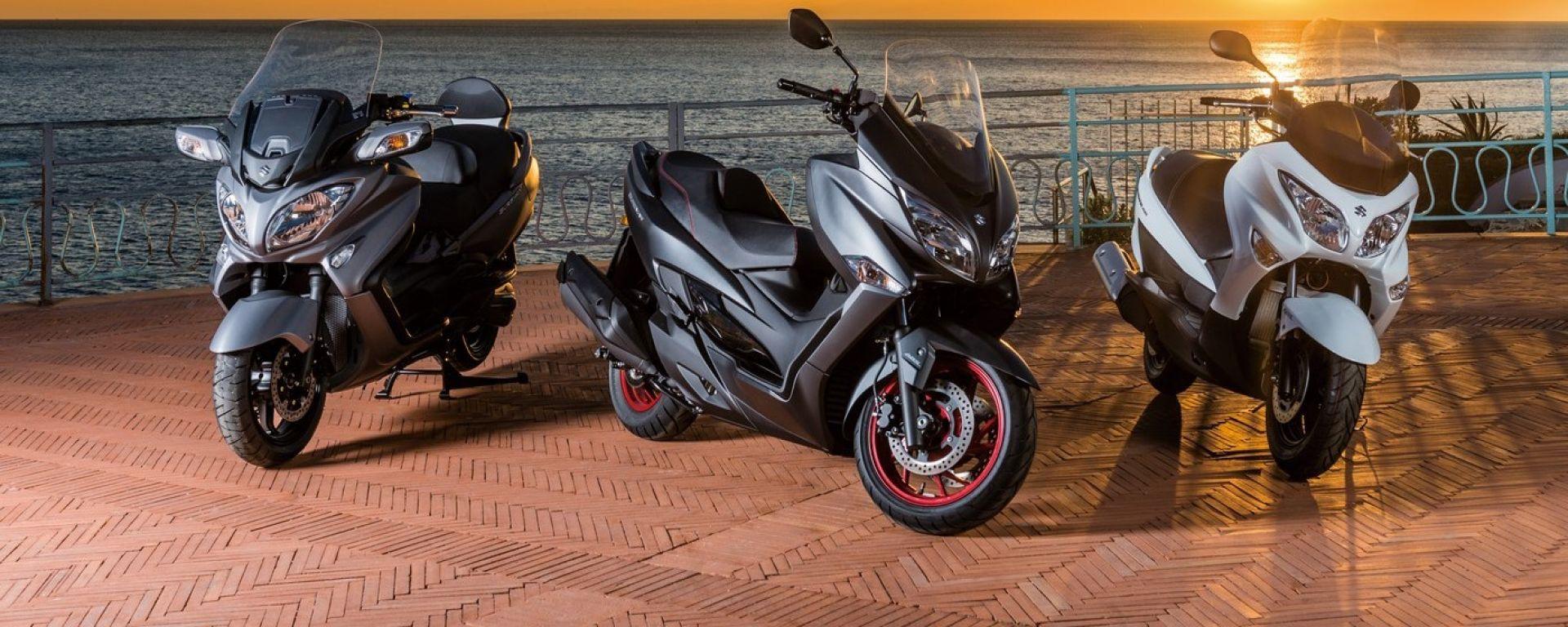 Suzuki Burgman 400 2017, Motodays