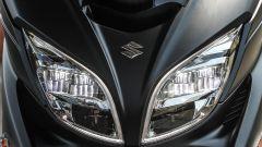Suzuki Burgman 400 ABS, faro anteriore