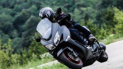 Suzuki Burgman 400 ABS, in azione