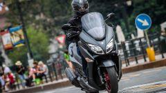 Suzuki Burgman 400 ABS in azione