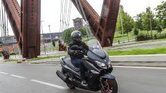 Suzuki Burgman 400 ABS, in città